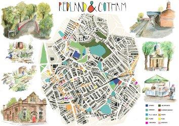 Redland & Cotham map and illustrations